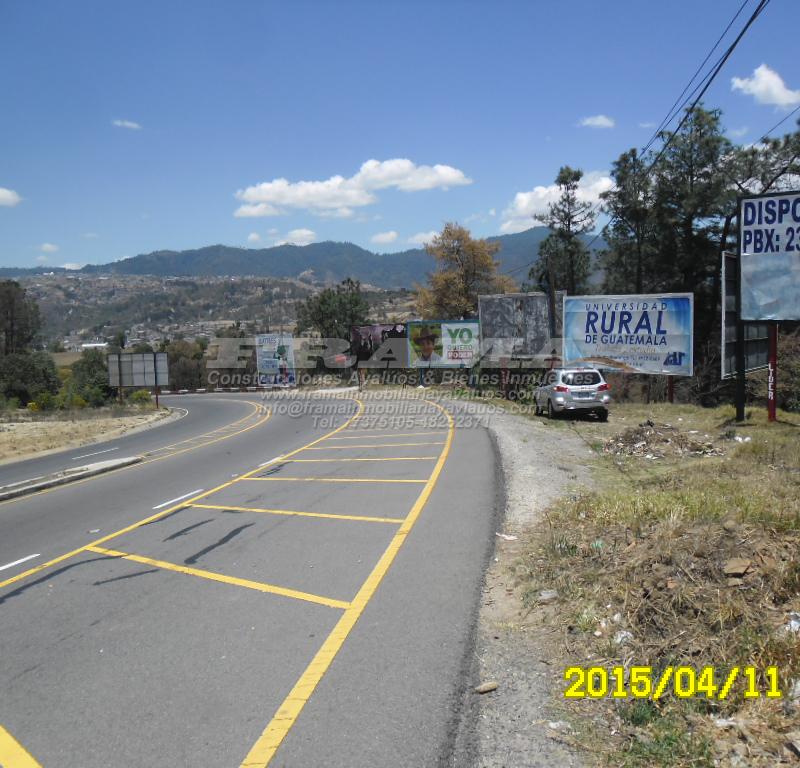 Terreno en venta en 4 caminos San Cristobal Toto.