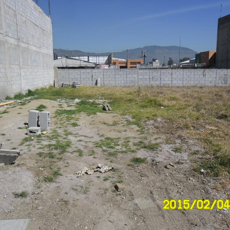 Frente de lote de terreno en venta en quetzaltenango