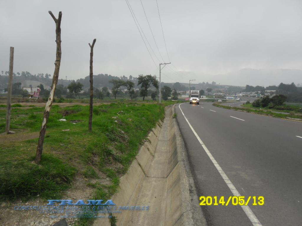 Frente de terreno a autopista los altos Quetzaltenango