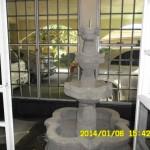 fuente jardin interior