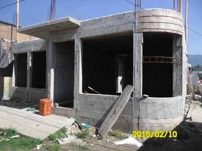Avalúo Bancario practicado a inmueble en construcción ubicado en San Pedro San Marcos.